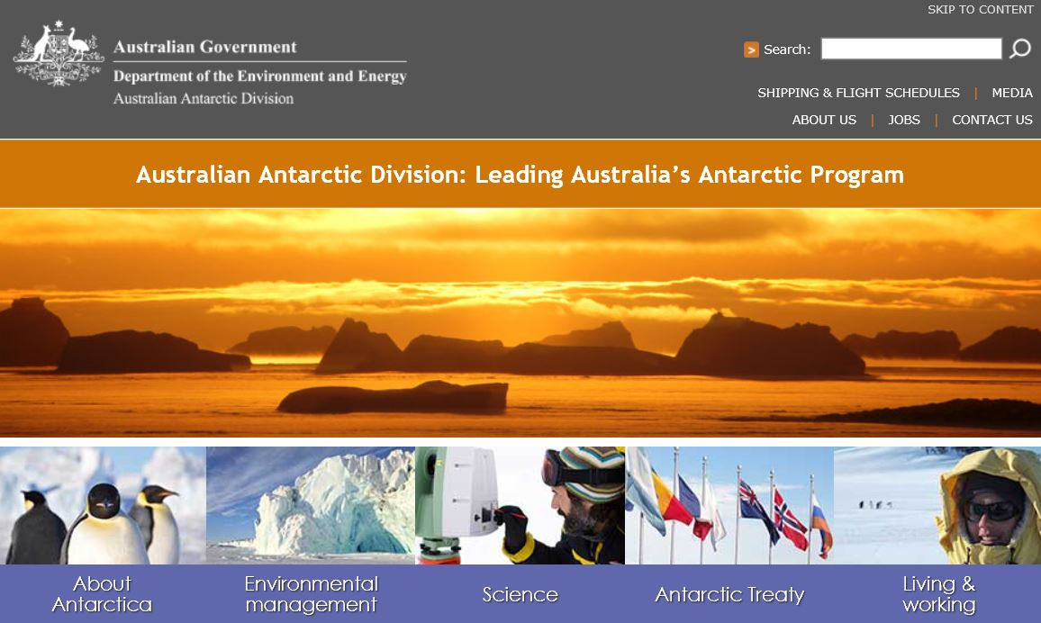 Australian Antarctic Division: Leading Australia's Antarctic Program