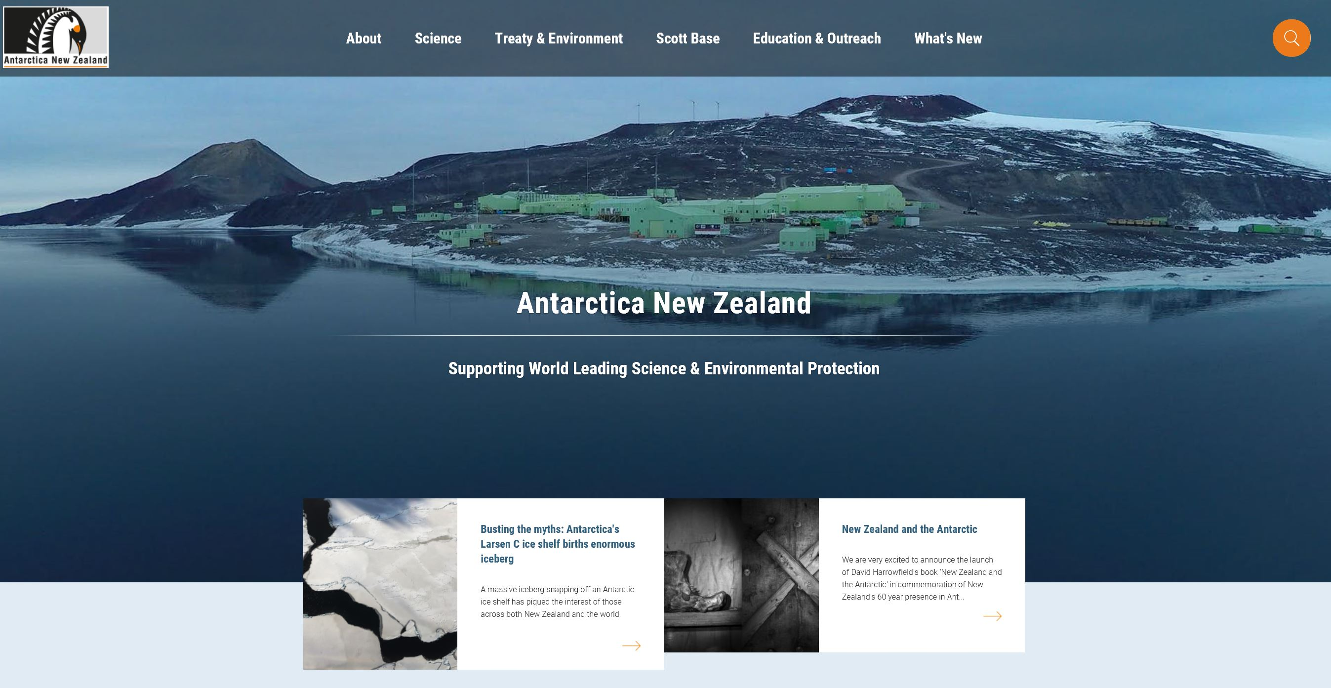Antarctica New Zealand – Supporting World Leading Science & Environmental Protection